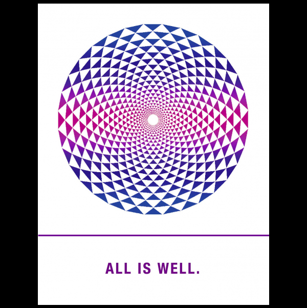 All is well. greeting card from the Empowerments collection.
