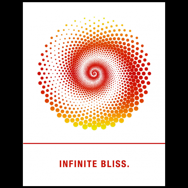 Infinite Bliss. greeting card from the Empowerments collection.