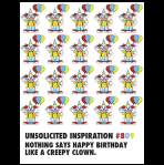 Creepy Clown Birthday