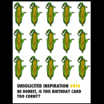 Corn Birthday