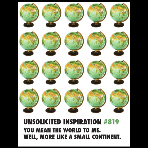 World Friendship, Thank you, Birthday greeting card from the Unsolicited Inspirations...NEW! collection.